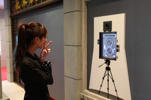 广东馆复制骑楼风情 5D影院观众可与电影互动