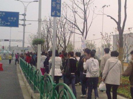 微观世博:直击上海世博会4月20日首场试运营