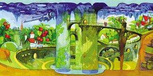 俄罗斯馆造童话王国 梦幻城堡展示人类梦想