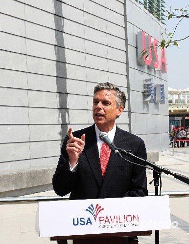 美国馆参观人数破40万 美驻华大使赞上海世博