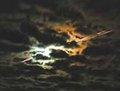 组图:日本隼鸟号进入大气层出现橙黄色焰火