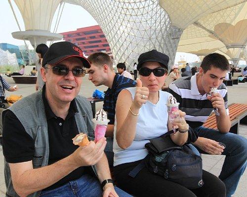 五一气温创峰值 世博游客消费雪糕超60万支