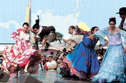 巴拉圭国家馆日:且随悠扬竖琴声起舞(图)