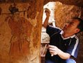 高清:河南洛阳一宋代壁画墓发现二十四孝图