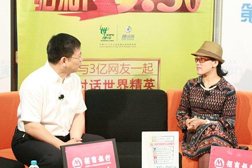 赵丽华称文笔犀利胜韩寒 预言微博将改变中国
