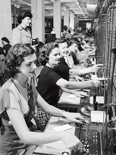 电话:美国时代的到来