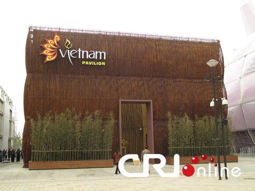 越南馆:现代文明生活与自然和谐共存(图)