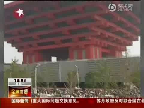 视频:热门馆分批限流参观 公交全力疏散客流