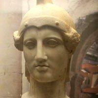 古希腊智慧女神现身世博