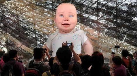 六一世博园变身童话世界 泡泡先生将成大明星