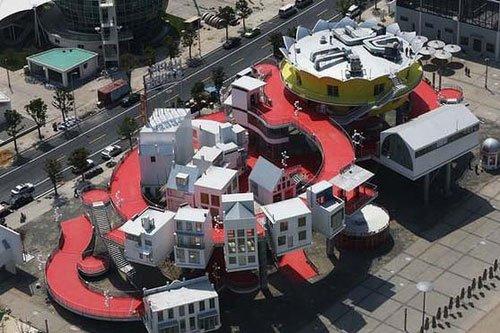 世博会迎来荷兰国家馆日 立体展示理想城市