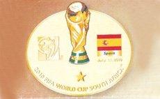 西班牙夺冠徽章