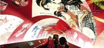 日本馆茶道艺术与樱花壁画齐聚尽现东瀛风情