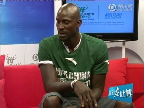 视频:景行在世博-加内特期待参观中国馆
