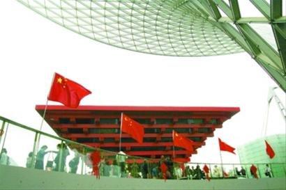 中国馆将于12月1日起延展 将成上海地标建筑