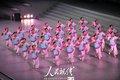 图文:上海世博会闭幕式 现场暖场表演