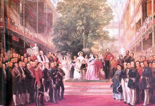 1851年世博会开模式的油画作品