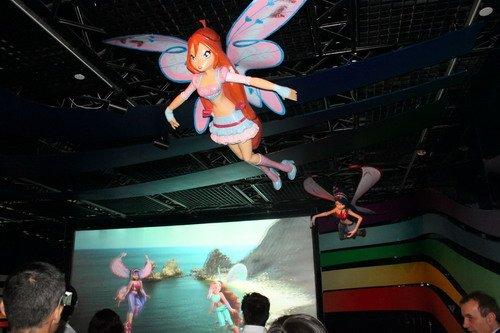意大利馆3D动画首映 和小仙女一起游神奇之地