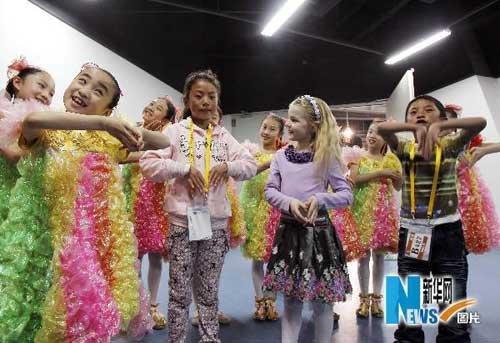 玉树两名地震孤儿将参加世博会开幕式