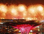 世博灯光喷泉焰火表演 移动喷泉全球首次亮相