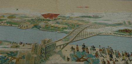 上海师范大学8个月绘出2.5米《世博胜景图》