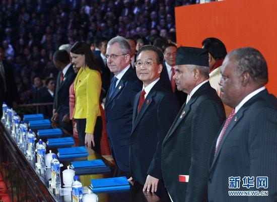 快讯:温家宝宣布中国2010年上海世博会闭幕