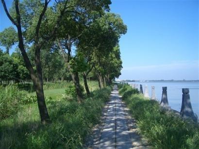 秋游上海淀山湖骑行串游很逍遥(图)