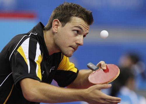 著名德国乒乓球运动员波尔