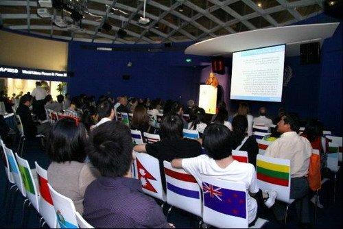 世界城市论坛火炬传递 巴西与巴林分享经验