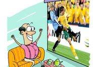 世界杯期间,男人眼里只有足球