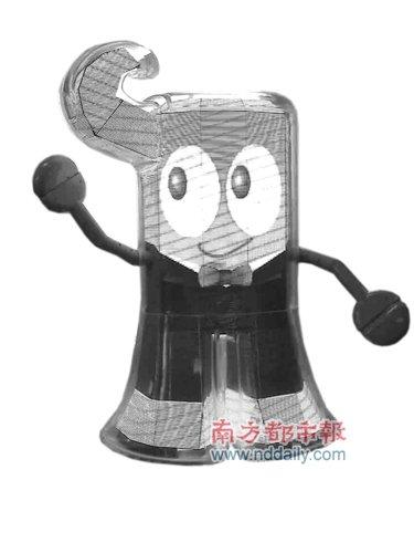 """海宝机器人亮相世博 能唱会说心智会""""发育"""""""