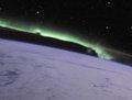 高清:从国际空间站拍摄到的壮观极光美景