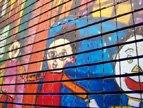 照片涂鸦构成像素墙 4D电影忆上海发展