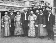1904美国圣路易斯州中国代表团合影