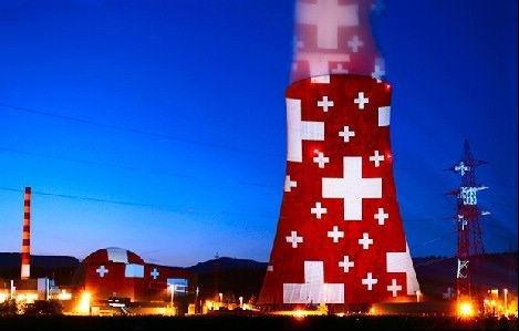 美!发电站里冷却塔的艺术