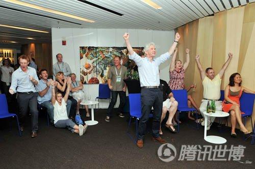 橄榄球世界杯倒数一周年 新西兰馆邀球迷狂欢
