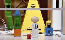 瑞典馆22个不同造型机器人可组建合唱团