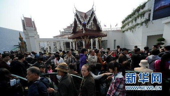 图文:上海世博会参观者累计突破7300万人次