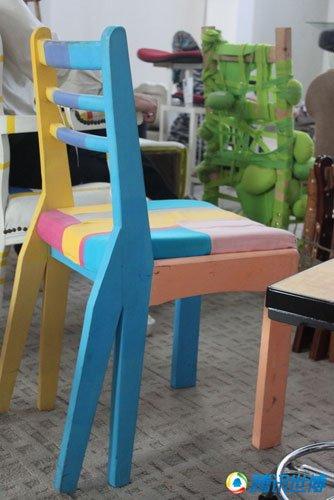 手记:零碳细节无所不在 创意椅子最让人感动