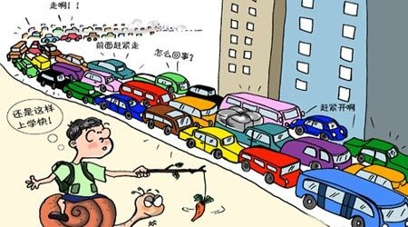 """珍爱生命,远离""""堵王"""" 聚焦城市交通顽疾"""