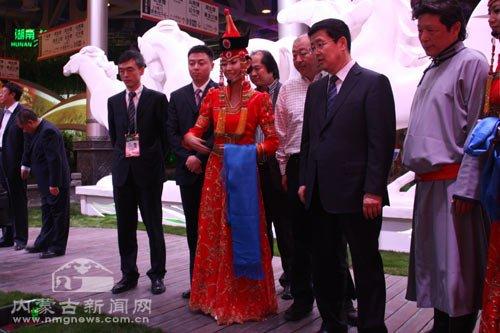 上海世博会内蒙古馆30日举行运营启动仪式