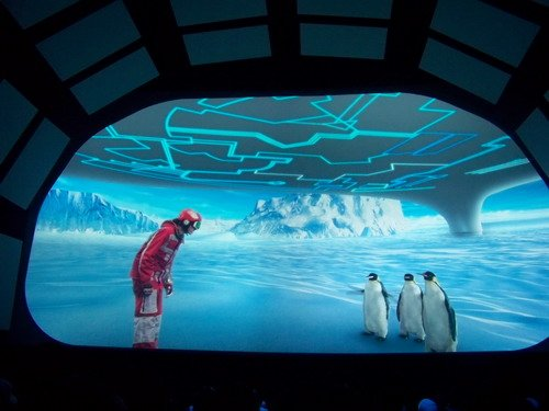 信息通信馆描绘与南极企鹅对话的梦想(图)