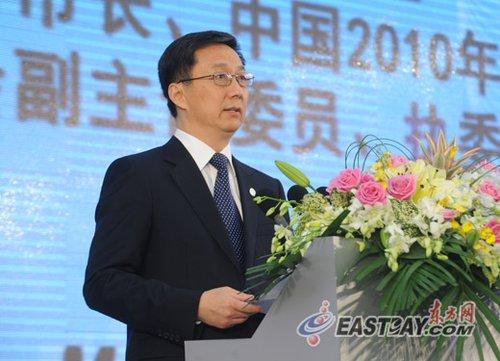 韩正:青年的思想交锋促进城市可持续发展