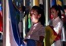 世博会降旗仪式