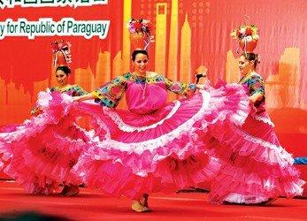 巴拉圭今迎国家馆日 踢踏舞跳出南美风情(图)
