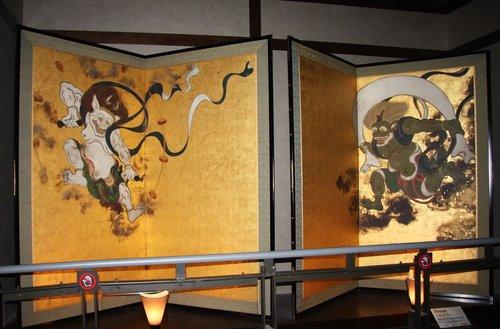 日本馆保护文化遗产 展高精复制国宝绘画(图)