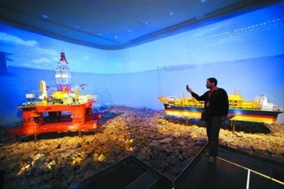 船舶馆世博后将增远望一号和未来船舶模型展