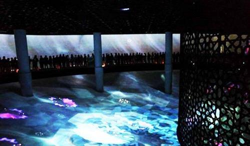 沙特馆馆长:馆内的巨型银幕未用IMAX技术