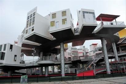 """世博会""""群英会"""":在建筑中相遇文明(图)"""