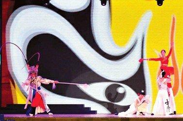 重庆活动周开幕 巴渝山水风情画卷意境深远